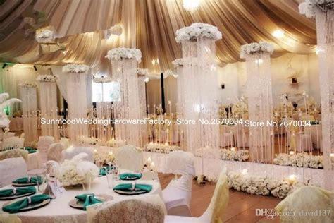 crystal curtains wedding 200cm height acrylic crystal curtain for wedding stage