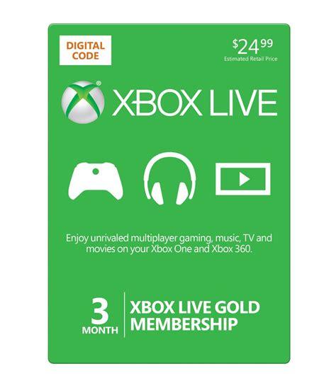 amazon xbox gift card amazon microsoft xbox live 3 month gold card 14 99 the