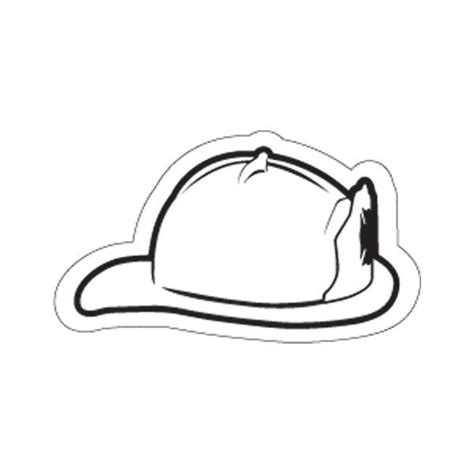 coloring page of a firefighter hat firefighter hat coloring page coloring home