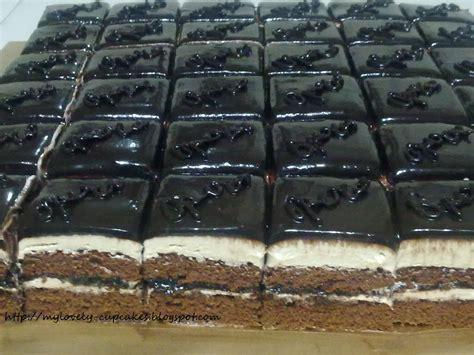 Cake Potong Jumbo Vanilla Buttercake mylovely cupcakes ala ala opera slices cake