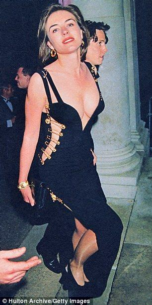 Buy Elizabeth Hurleys Safety Pin Versace Dress by Elizabeth Hurley Shocked The World In That Versace Safety