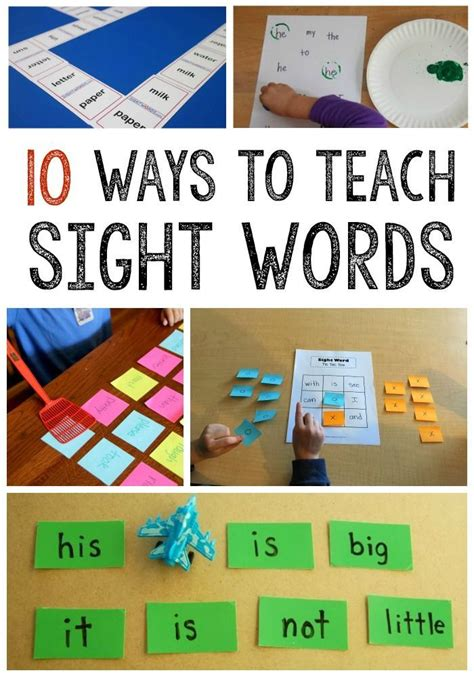 easy way to make flash cards best 25 teaching sight words ideas on sight