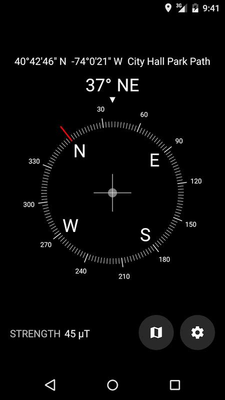 compass app for android digital compass free android app the free digital compass app to your