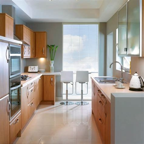 ideas for galley kitchens small galley kitchen with dining area designs uk house