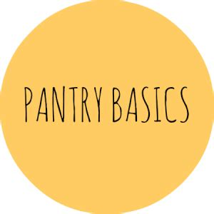 Pantry Basics by Nourish Ed Health Nutrition Wellbeing