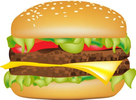 hamburger clipart cheeseburger cliparts