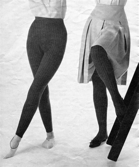 free pattern knitted leggings women and girl s 1960s vintage knitted tights hose