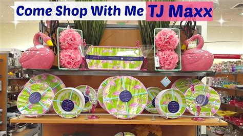 come shop with me t j maxx home decor store may 2017