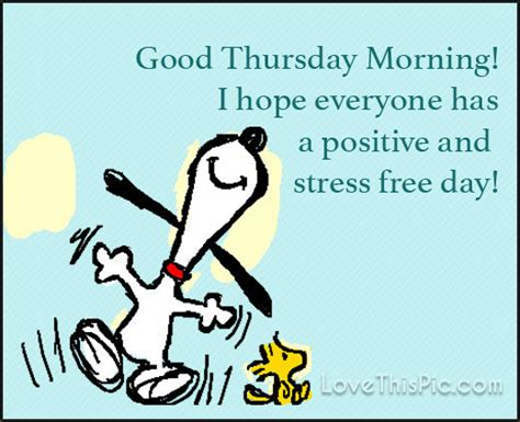 thursday quotes images snoopy morning thursday image quote pictures photos