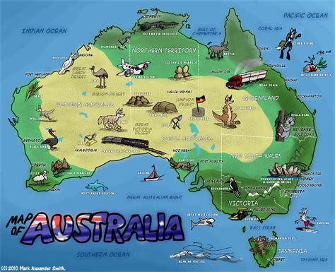 australia map collection