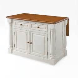 home styles monarch distressed oak drop leaf kitchen island white ecustomfinishes
