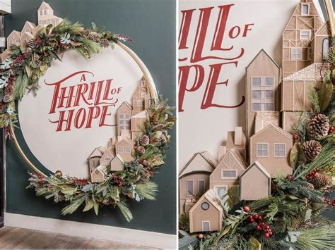 joanna gaines magnolia market holiday installation  leave  speechless southern