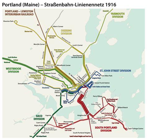 portland light rail map maine voices light rail system would save energy serve