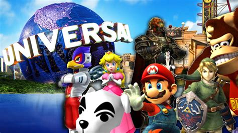 gamers anime universal nintendo characters are coming to universal theme parks