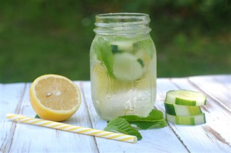 Lemon Mint Cucumber Detox Water Recipe by Cucumber Lemon Mint Water Recipe Not Quite Susie Homemaker