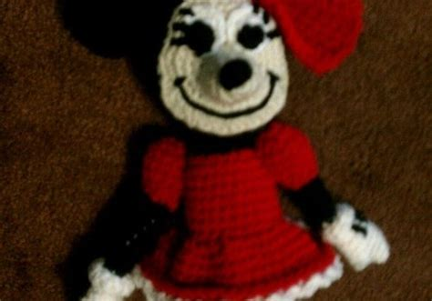 minnie mouse doll knitting pattern free pattern absolutely adorable minnie mouse knit