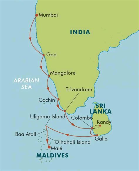 maldives map indian india sri lanka the maldives