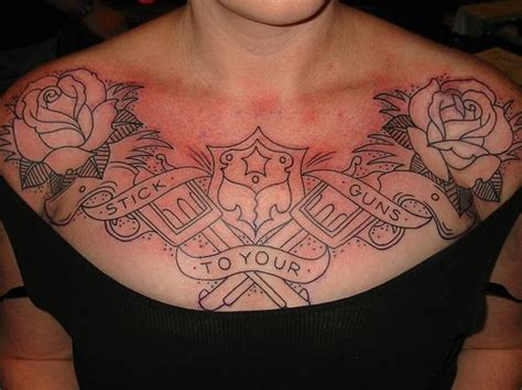 womens chest tattoos designs chest ideas gallery