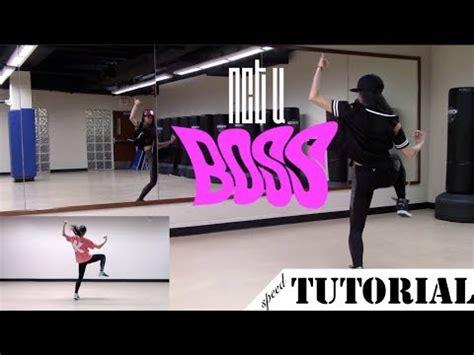 tutorial dance i need u tutorial nct u boss dance chorus tutorial youtube