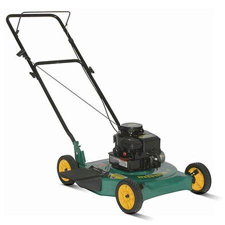 weed eater 20 quot lawn mower with side discharge walmart com