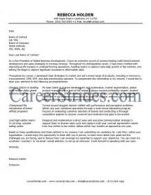 Executive Cover Letter Exles by Executive Cover Letter Sle