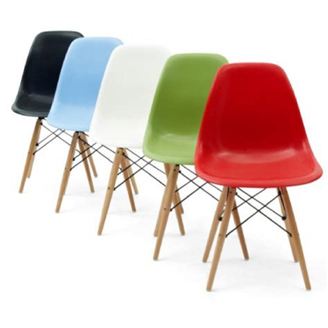 Colored Chairs by Eiffel Coloured Side Chair With Wood Base Buy Acrylic
