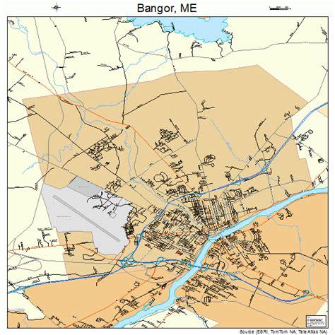bangor maine map map of bangor maine bnhspine