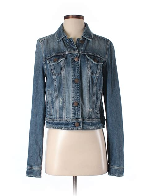 American Eagle Dot Denim american eagle outfitters denim jacket 71 only on thredup