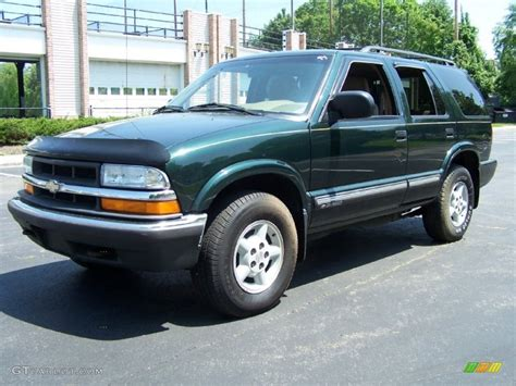 2001 chevrolet blazer ls 2001 forest green metallic chevrolet blazer ls 4x4