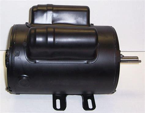 160 0266 coleman powermate sanborn air compressor motor 240vt 5hp 56fr one phase factory air