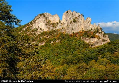 Spruce Knob Seneca Rocks National Recreation Area by Seneca Rocks Picture 032 October 4 2008 From Spruce
