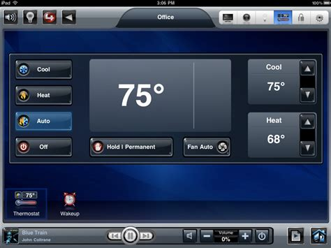 4 hvac controls with ability to manage cool heat