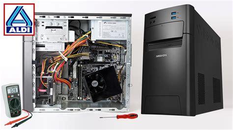 pc test medion akoya p2150 aldi pc im test computer bild