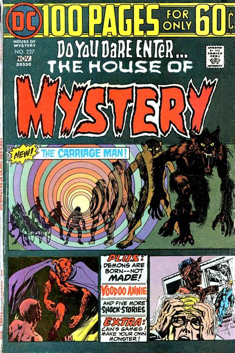 house of mystery horror illustrated house of mystery 1970 s
