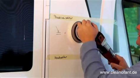 Gelcoat Polieren Wohnmobil politur von aufbau au 223 enh 252 lle gfk gelcoat lack bei