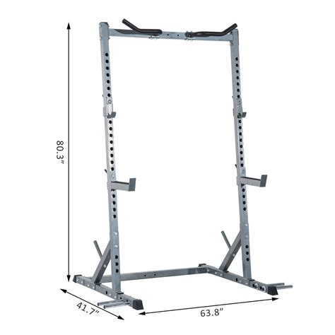 Guided Squat Rack by Soozier Ultimate Strength Squat Rack