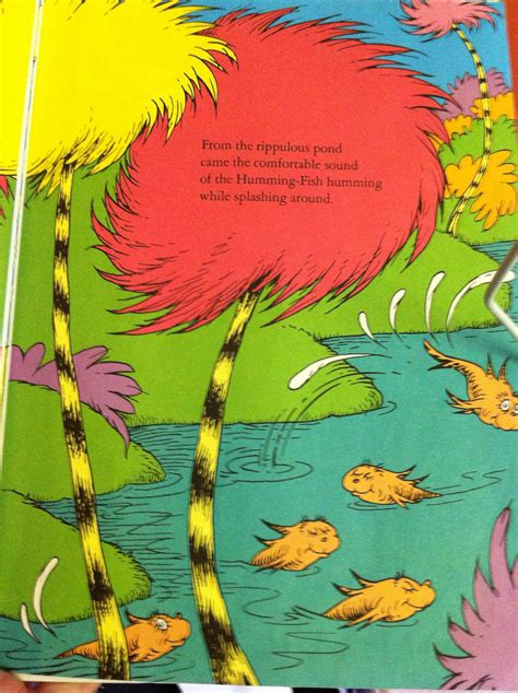 the lorax pictures from book truffula trees the moon accepts