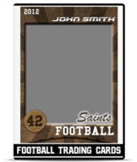 football roster card template football player profile template teamtemplates
