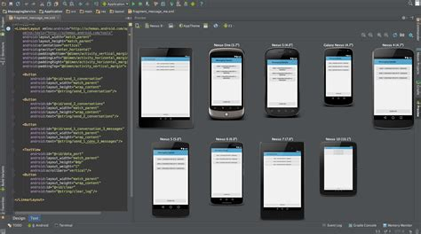 android studio layout id android studio 1 0 officially released droid lessons