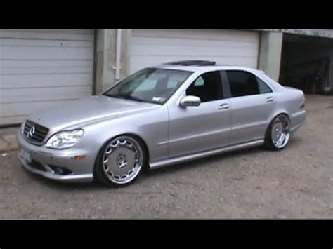 bagged mercedes e class 2000 mercedes benz s class s500 vip dropped bagged youtube