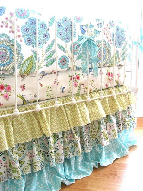 What Is Dust Ruffle For Crib by Leanika Ruffle Custom Crib Bedding 50 Deposit For