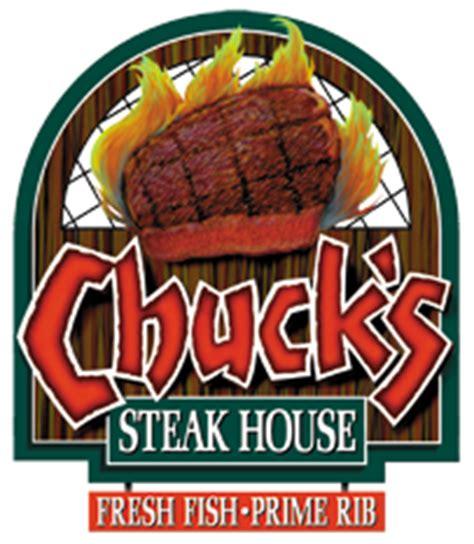 chuck s steak house menu front page chuck s steak house