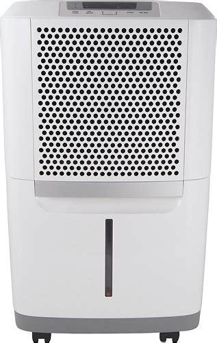 The Best 70 Pint Dehumidifiers Let Sremovemold Frigidaire 70 Pint Dehumidifier White Fad704dwd Best Buy