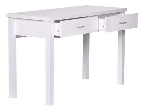 Schreibtisch 50 Cm by Finebuy Schreibtisch Samy Wei 223 Mit 2 Schubladen Holz 120 X