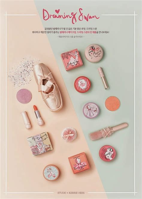 Kosmetik Etude etude house dreaming swan makeup collection 2015