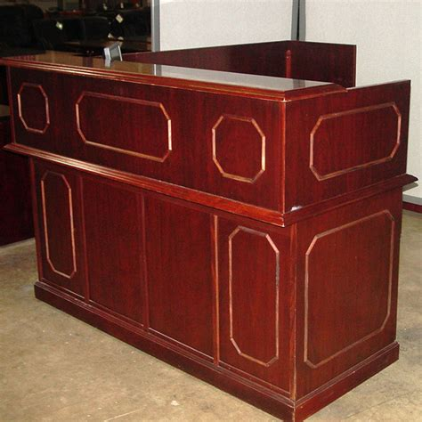 Wood Reception Desks Dallas Office Furniture Traditional Reception Desk New Used Furniture