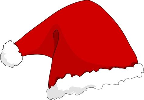 Free Clipart Santa Hat santa hat clip free vector in open office drawing svg
