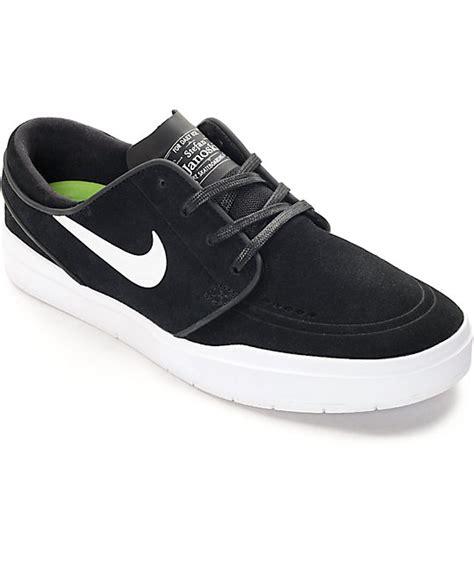 Sepatu Skate Nike Stefan Janosky nike sb stefan janoski hyperfeel black white skate shoes zumiez