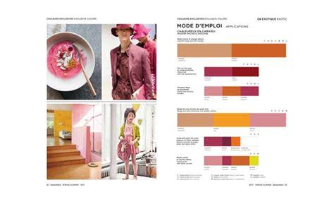 peclers paris cahier de tendance colors trend book spring
