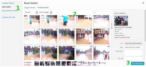 membuat database galeri foto cara membuat galeri foto di webdes relawan tik bojonegoro